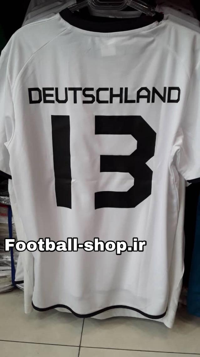 """پیراهن سفید کلاسیک قدیمی آلمان """"دیوتی کلنز"""" 13-TURK"""