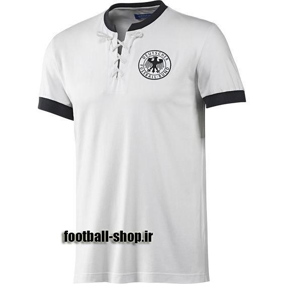 پیراهن سفید آستین کوتاه کلاسیک 1954 آلمان-بی نام-TURK