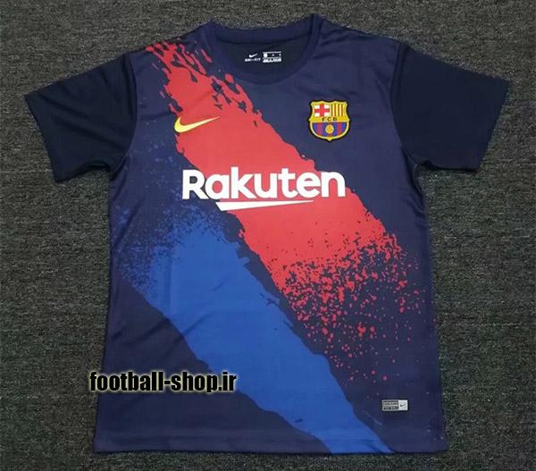 پیراهن هواداری آبی اناری اورجینال 2019-2020 بارسلونا-بی نام-Nike