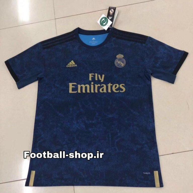 پیراهن دوم اورجینال 2019-2020 رئال مادرید-بی نام-Adidas