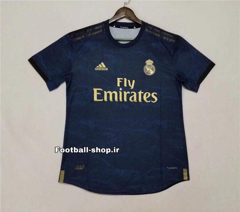 پیراهن دوم ورژن پلیر اورجینال 2019-2020 رئال مادرید-Adidas-player
