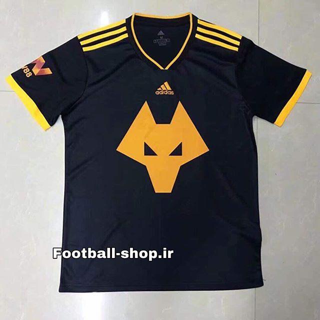 پیراهن دوم اورجینال 2019-2020 ولورهمپتون-بی نام-Adidas