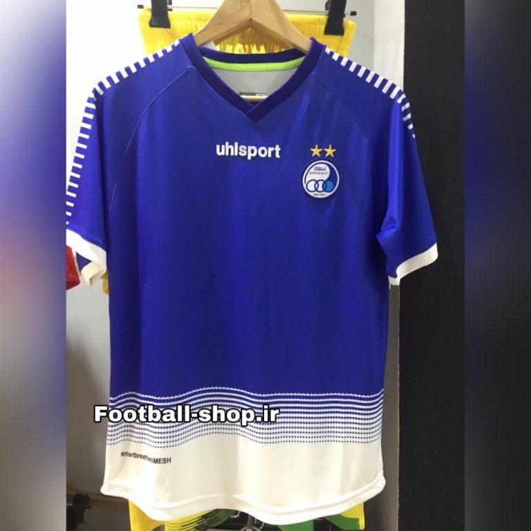 پیراهن اول (نیم فصل اول)اورجینال درجه یک 1398-1399 استقلال-بی نام-Uhlsport