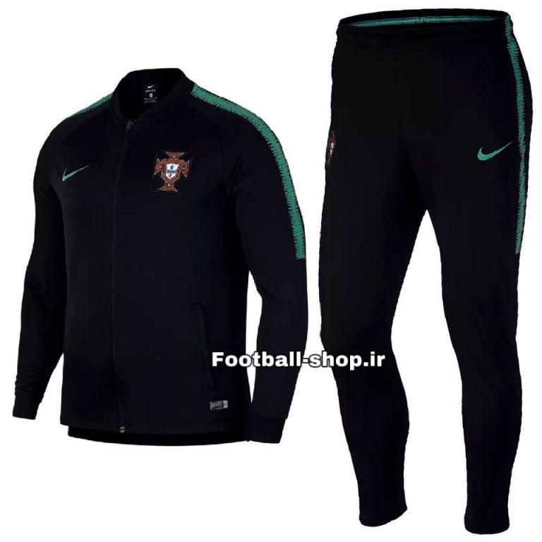 گرمکن شلوار اورجینال مشکی گرید یک 2020 پرتغال-Nike