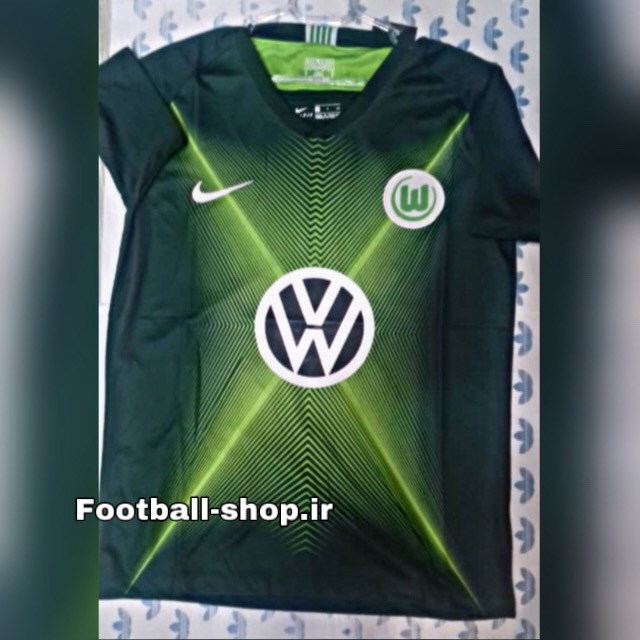 پیراهن اول اورجینال درجه یک 2019-2020 ولفسبورگ-بی نام-Nike