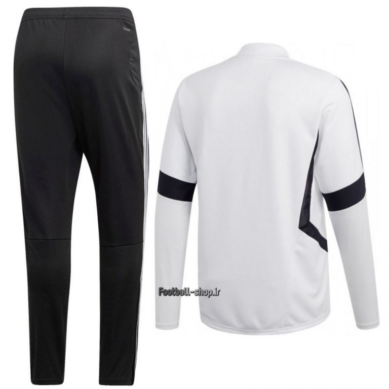 سویشرت شلوار گرید یک +A سفیدمشکی 2020 یوونتوس-Adidas