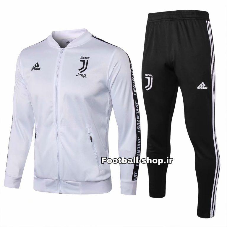 گرمکن شلوار سفید مشکی اریجینال 2020 یوونتوس-Adidas