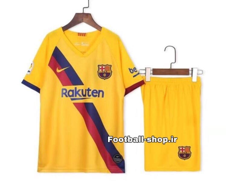 پیراهن شورت دوم +A اریجینال بارسلونا(بچه گانه)2020-Nike