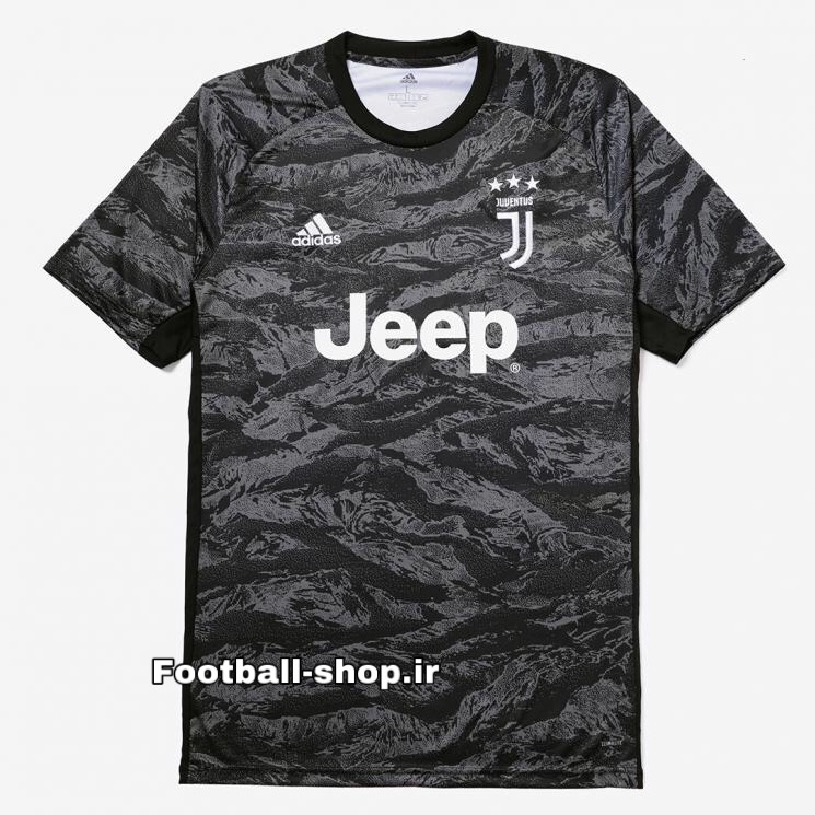 پیراهن شورت گلری چریکی+A اریجینال یوونتوس(بچه گانه)2020-Adidas