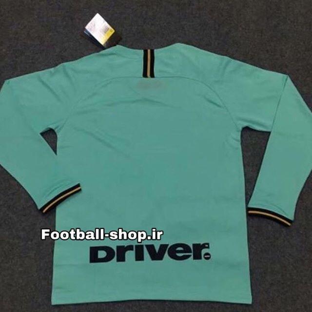 پیراهن دوم آستین بلند اورجینال درجه یک 2019-2020 اینتر-بی نام-Nike