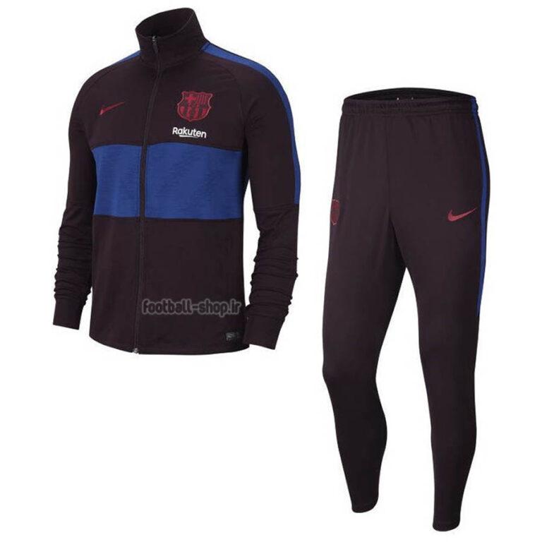 گرمکن شلوار اریجینال درجه یک +A مشکی 2020 بارسلونا-Nike