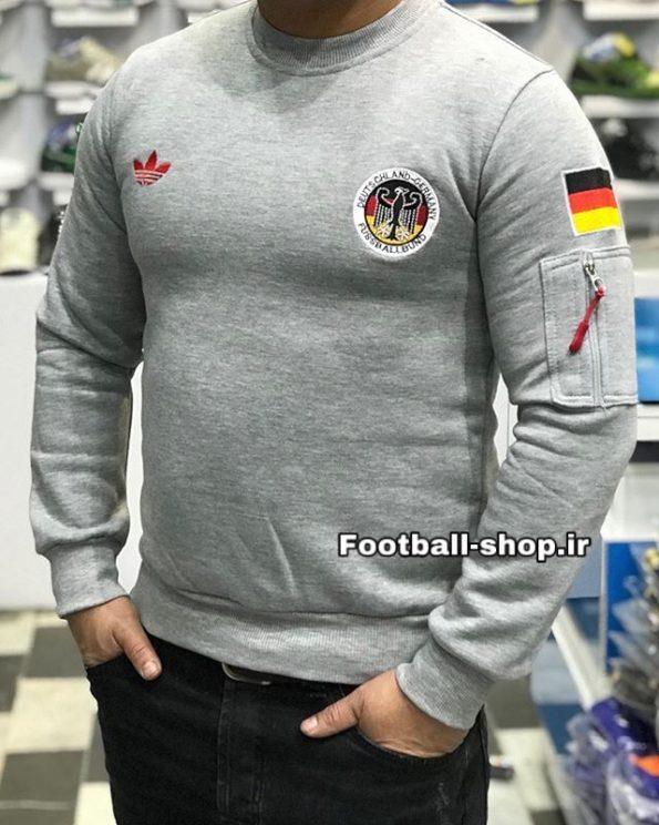 بلوز اریجینال خاکستری داخل کرک طرح کلاسیک 1990 آلمان-Adidas