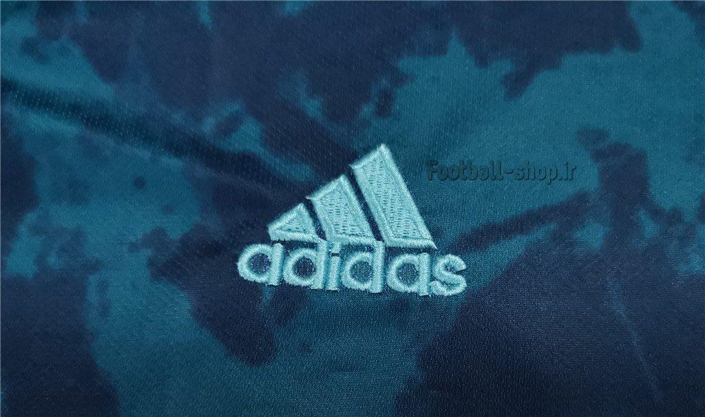 پیراهن دوم آستین کوتاه اورجینال 2020-2021 آرژانتین-Adidas