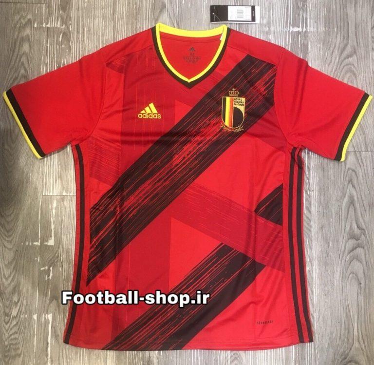پیراهن اول آستین کوتاه اریجینال یورو 2021 بلژیک-Adidas