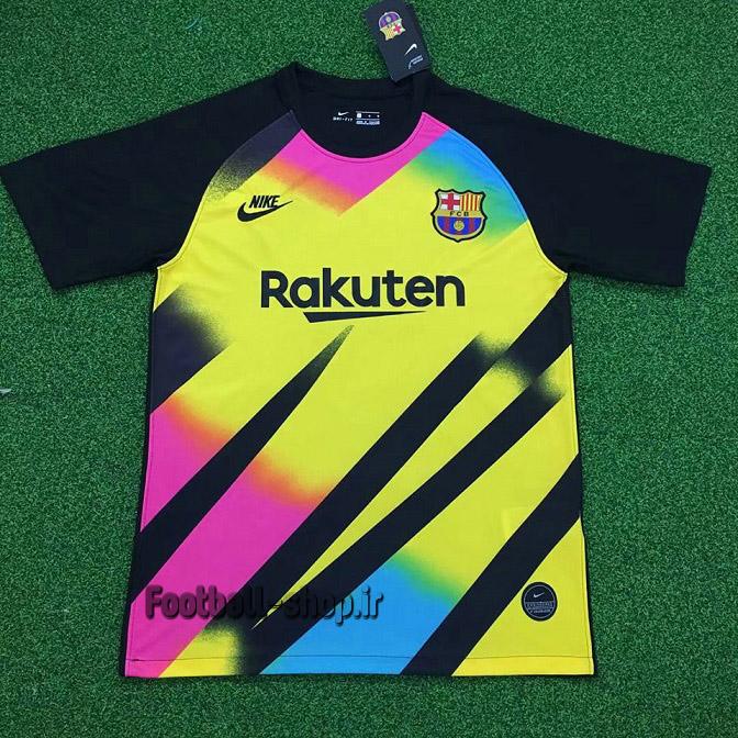 پیراهن گلری آستین کوتاه اورجینال 2019-2020 بارسلونا-Nike