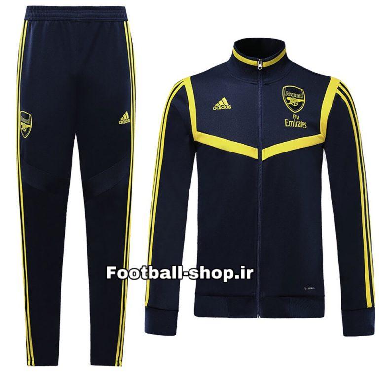 گرمکن شلوار حرفه ای سرمه ای اورجینال 2020 آرسنال-Adidas