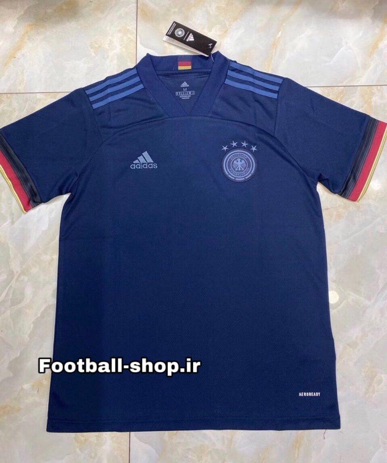 پیراهن دوم آستین کوتاه اورجینال یورو 2021 آلمان-Adidas