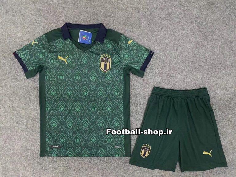 پیراهن وشورت سوم آستین کوتاه اورجینال یورو 2021 ایتالیا-Puma