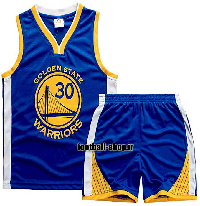 پیراهن و شورت آبی گلدن استیت واریرز 2020 NBA | استفن کری ۳۰#