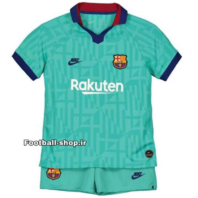 پیراهن شورت سوم اریجینال بارسلونا (بچه گانه)2019/20-Nike