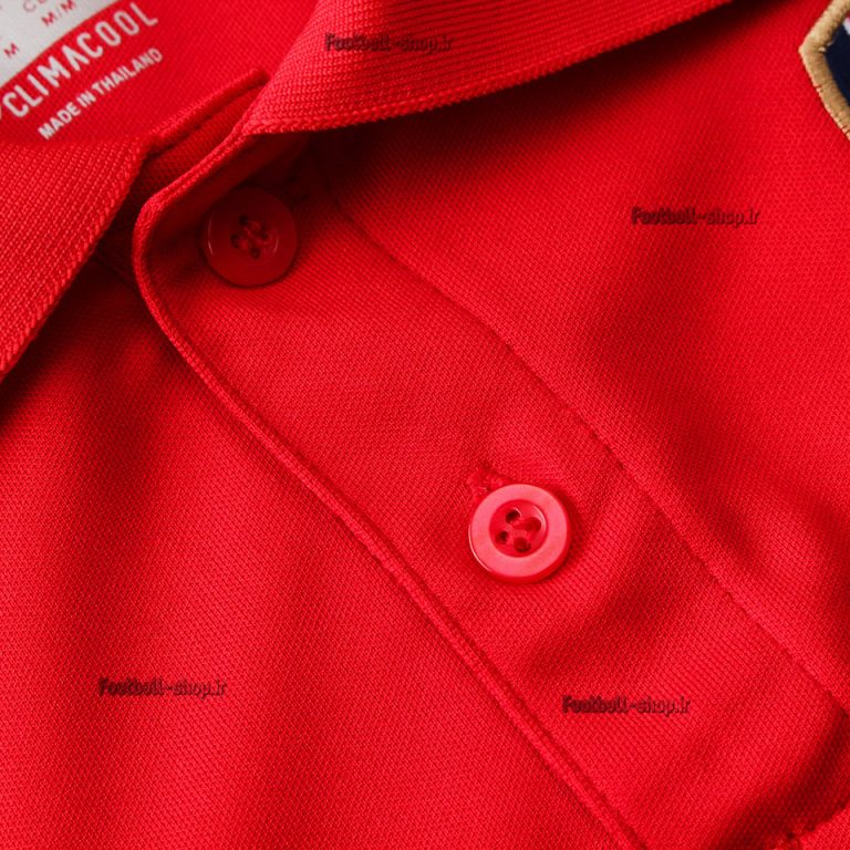 پولوشرت شلوار قرمز سرمه ای اورجینال 2020 آرسنال-Adidas