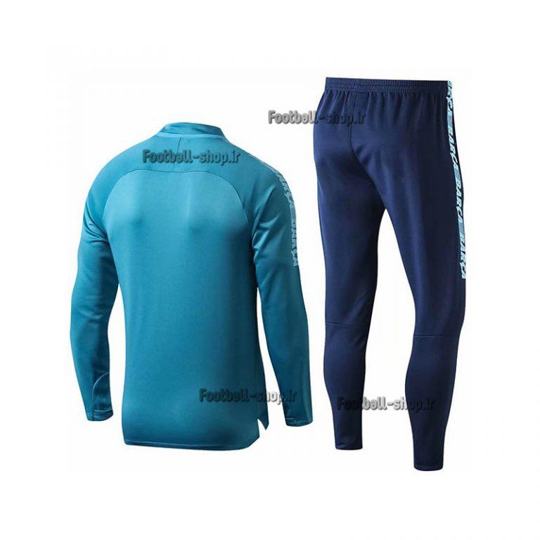 ست سویشرت شلوار حرفه ای آبی سرمه ای اورجینال 2020 بارسلونا-Nike
