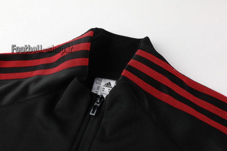ست گرمکن شلوار حرفه ای مشکی اورجینال یورو 2020 بلژیک-Adidas