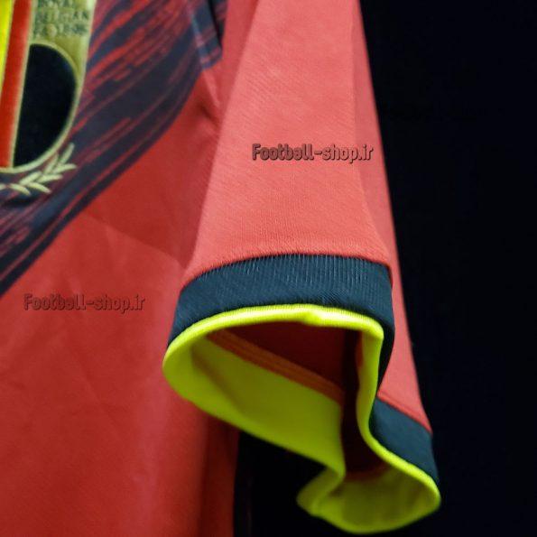 پیراهن و شورت اول آستین کوتاه اورجینال یورو 2020 بلژیک-بی نام-Adidas