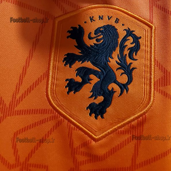 پیراهن اول آستین کوتاه اورجینال یورو 2020 هلند-بی نام-Adidas