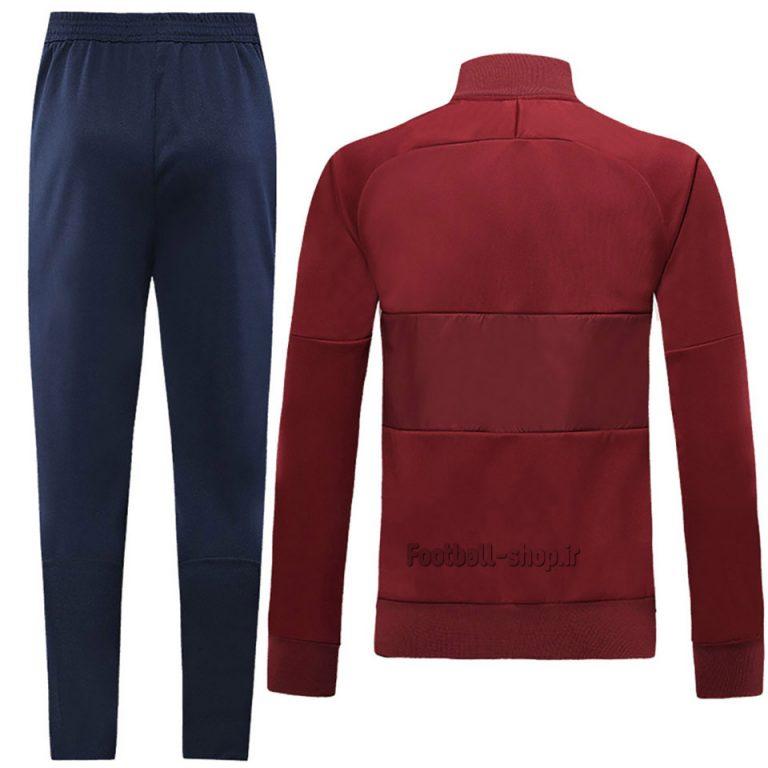 ست گرمکن شلوار حرفه ای قرمز سرمه ای اورجینال آس رم2020-Nike