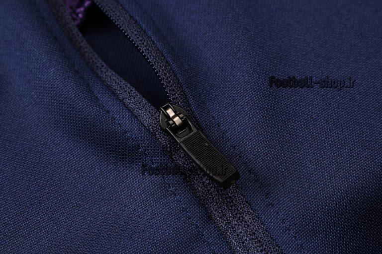 سویشرت شلوار حرفه ای سرمه ای بنفش اورجینال تاتنهام 2020-Nike