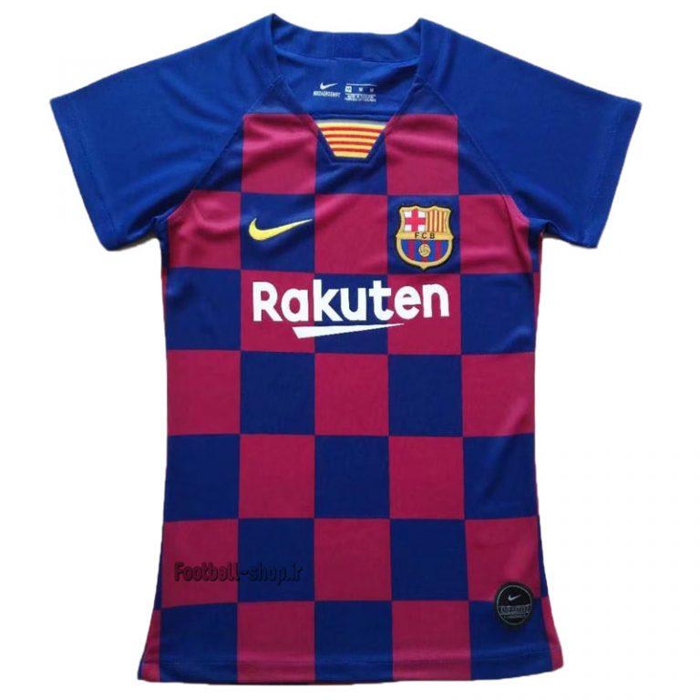 """پیراهن اول اریجینال گرید یک""""زنانه""""بارسلونا 2020-Nike"""