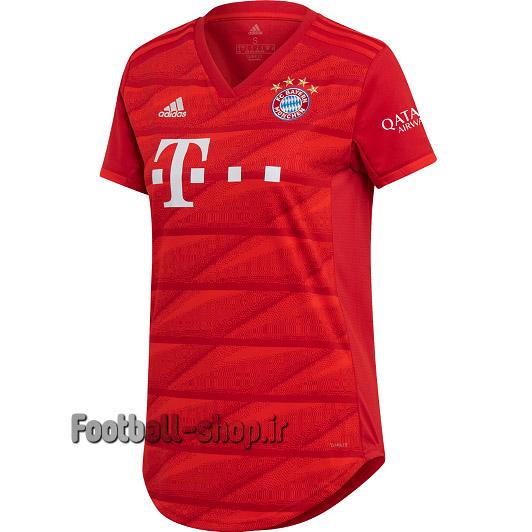 """پیراهن اول قرمز گرید یک""""زنانه""""بایرن مونیخ 2020-Adidas"""