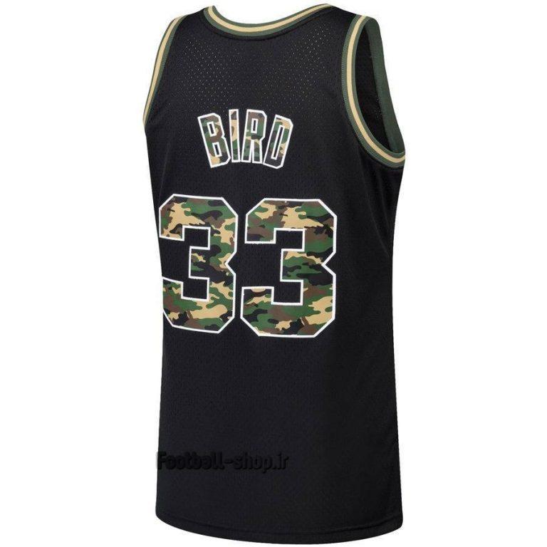 پیراهن بسکتبال مشکی بوستون سلتیکس 2020| بیرد 33,NBA JERSEY اصل