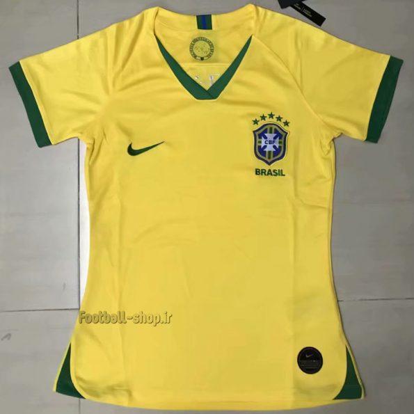 """پیراهن اول اریجینال گرید یک""""زنانه""""برزیل 2020-Nike"""