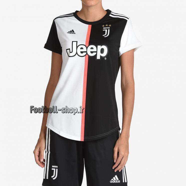 """لباس اول سفید مشکی گرید یک""""زنانه""""یوونتوس 2020-Adidas"""