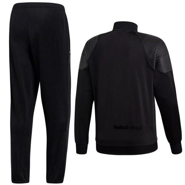 گرمکن شلوار حرفه ای مشکی اریجینال یوونتوس 2020-Adidas