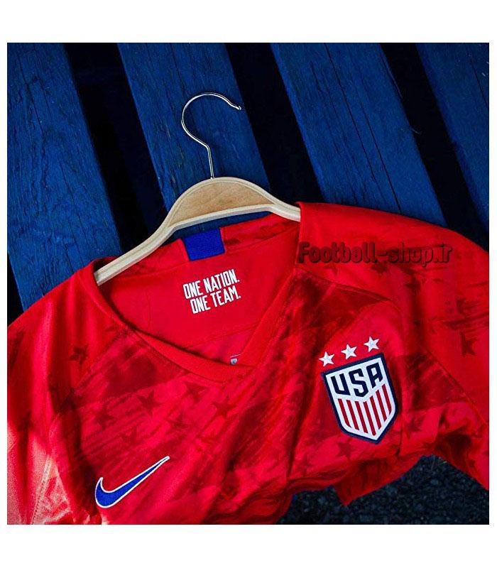 """پیراهن دوم قرمز گرید یک""""زنانه""""آمریکا 2020-Nike"""