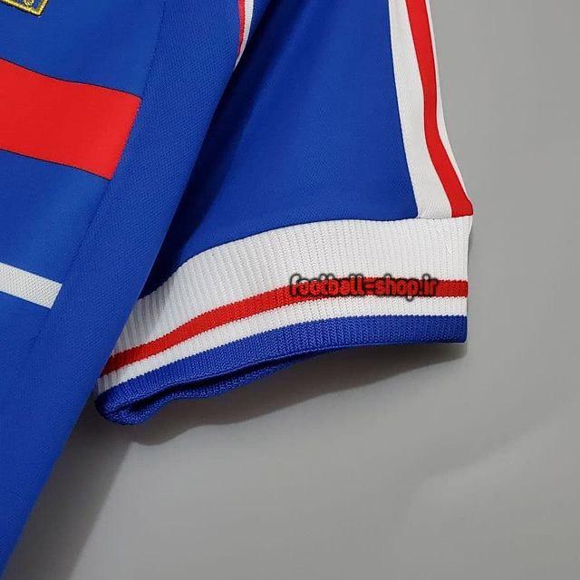 لباس اورجینال آستین کوتاه کلاسیک 1998 فرانسه-Adidas