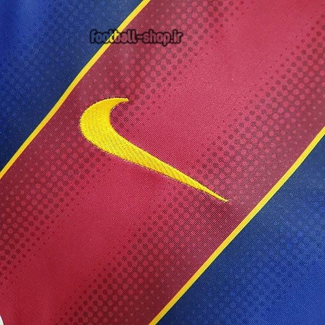 لباس اول آستین بلند اریجینال درجه یک +A بارسلونا 2021-Nike