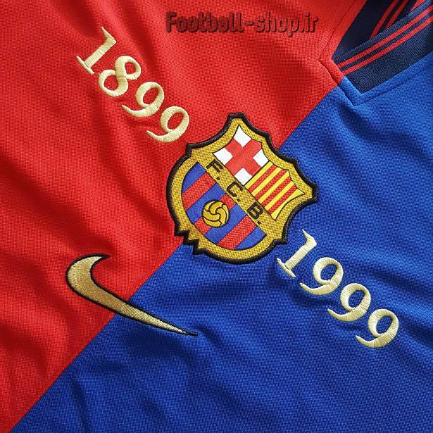 لباس اورجینال آستین کوتاه کلاسیک 1999 بارسلونا-Nike
