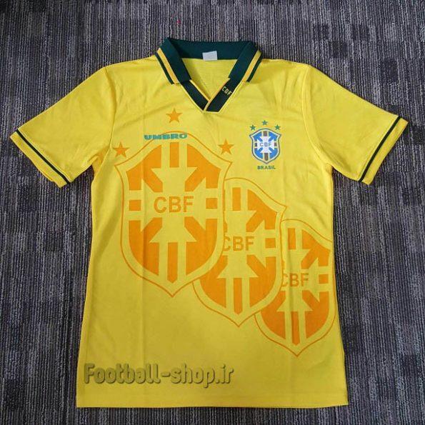 لباس اورجینال آستین کوتاه کلاسیک 1994 برزیل-Nike