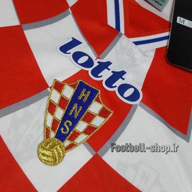 لباس اول اورجینال آستین کوتاه کلاسیک 1998 کرواسی-Lotto