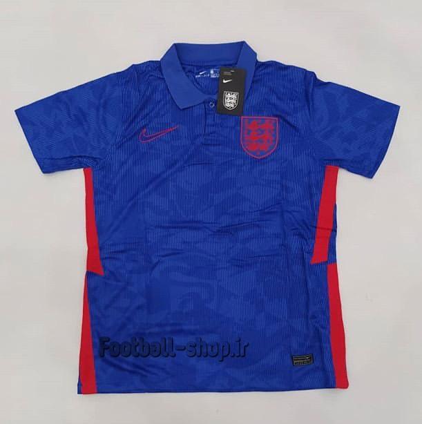 پیراهن دوم آبی اریجینال گرید یک انگلیس یورو 2021-Nike