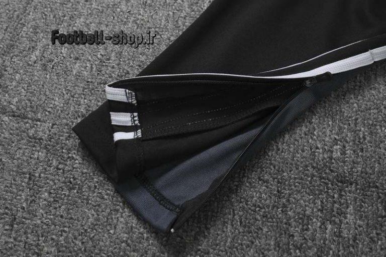 شلوار حرفه ای مشکی سفید اورجینال یوونتوس 2020-Adidas