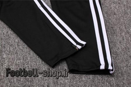 شلوار حرفه ای مشکی سفید اورجینال رئال 2020-Adidas