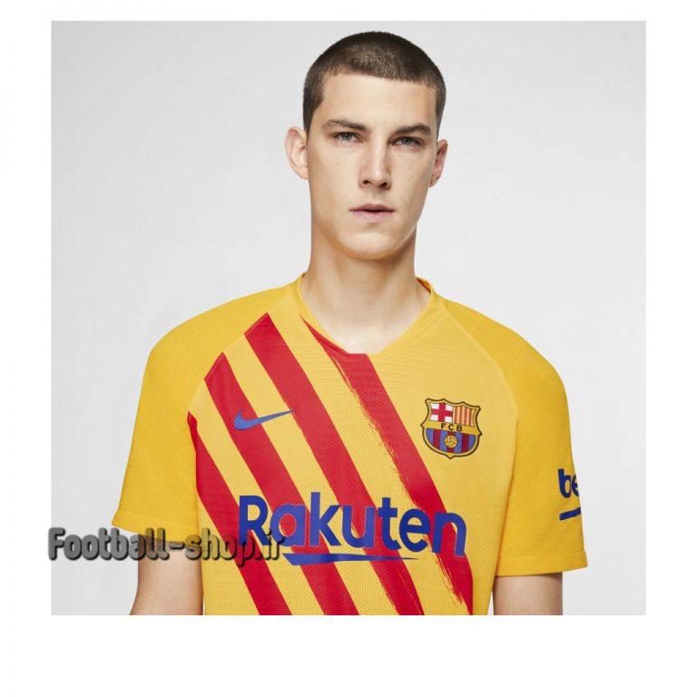 لباس چهارم آستین کوتاه اورجینال بارسلونا 2020-Nike