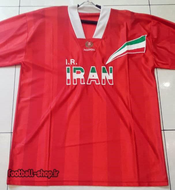 لباس قرمز اورجینال آستین کوتاه کلاسیک 1996-98 ایران