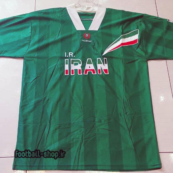 لباس سبز اورجینال آستین کوتاه کلاسیک 1996-98 ایران