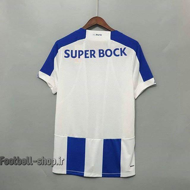 لباس اول آبی سفید گرید یک +A اریجینال 2020 پورتو-New balance